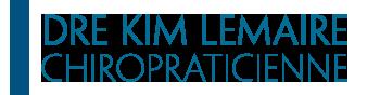 Clinique Chiropratique Dre Kim Lemaire Dre Kim Lemaire – 17385 rue Morin Bécancour, Québec G9H 0E2 – (819) 697-8966